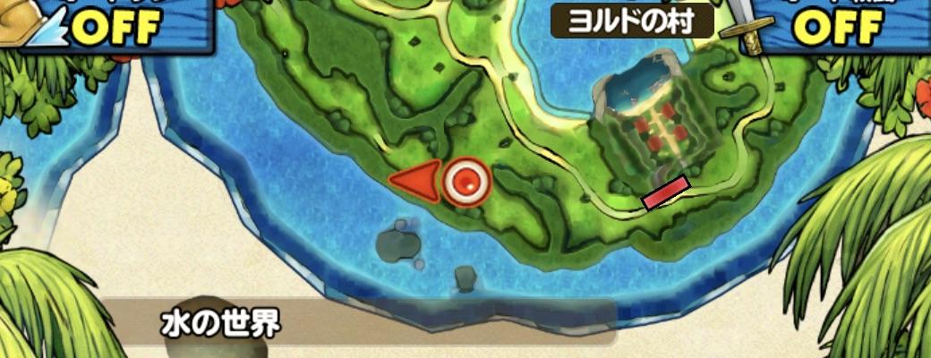 せみもぐらの出現場所のマップ