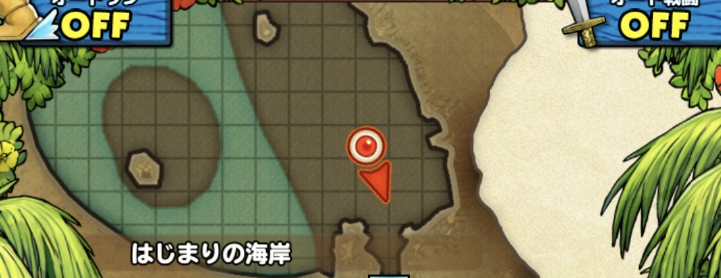 はなカワセミの出現場所のマップ