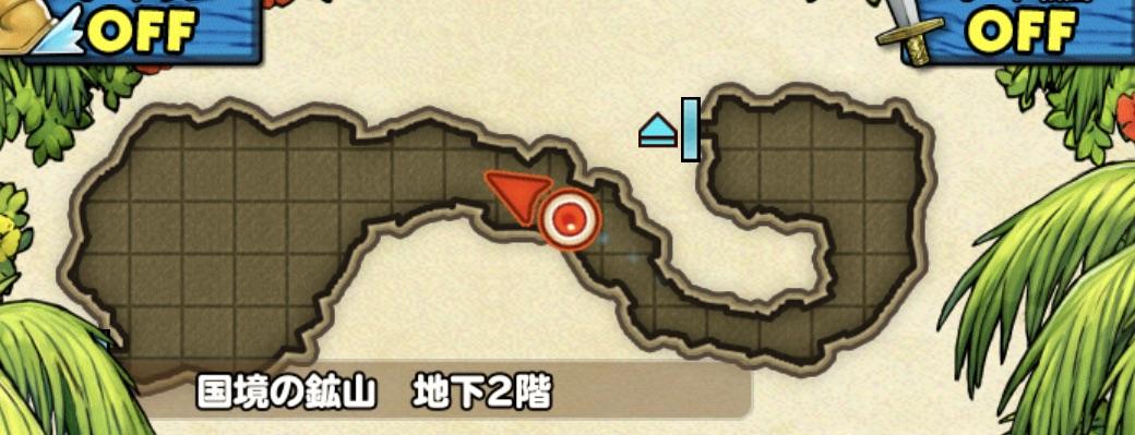ゴールドマンの出現場所のマップ